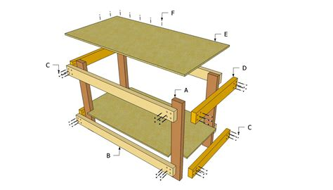 simple woodworking plans free free simple wood work bench plans plans free