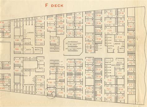 titanic floor plan wood work cabin plan titanic pdf plans
