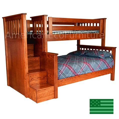 amish bunk beds amish bunk beds with stairs 28 images amish pine