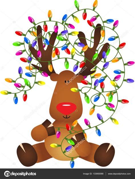collection reindeer lights pictures best