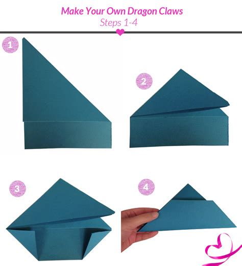 how to make origami finger claws paper claw tutorial enter the