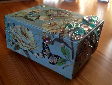decoupage box crafts decoupage box ideas