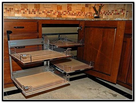 kitchen cabinet pull out shelves best 25 pull out shelves ideas on pantry