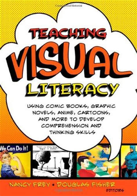 teaching visualization with picture books teaching visual literacy using comic books graphic