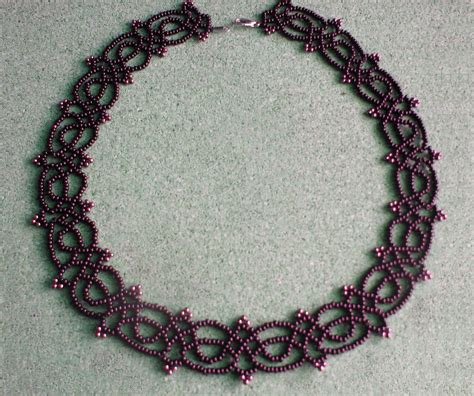seed bead choker patterns free pattern for necklace juliette magic