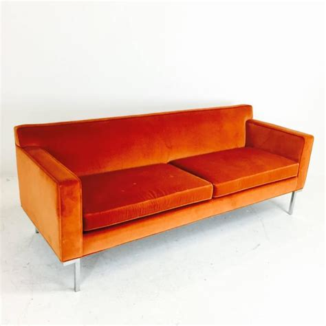 orange leather sofa sale orange for sale home divani casa modern orange and