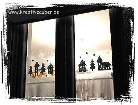 Fensterdeko Weihnachten Sprühschnee by Fensterdeko Im Winter Anleitung Und Vorlage