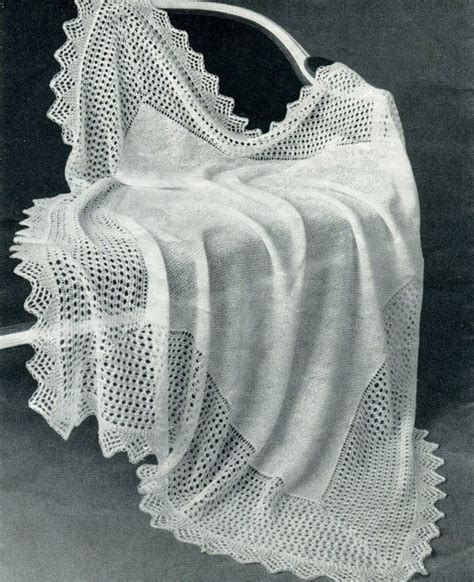christening shawl knitting pattern 1000 images about vintage baby blankets on