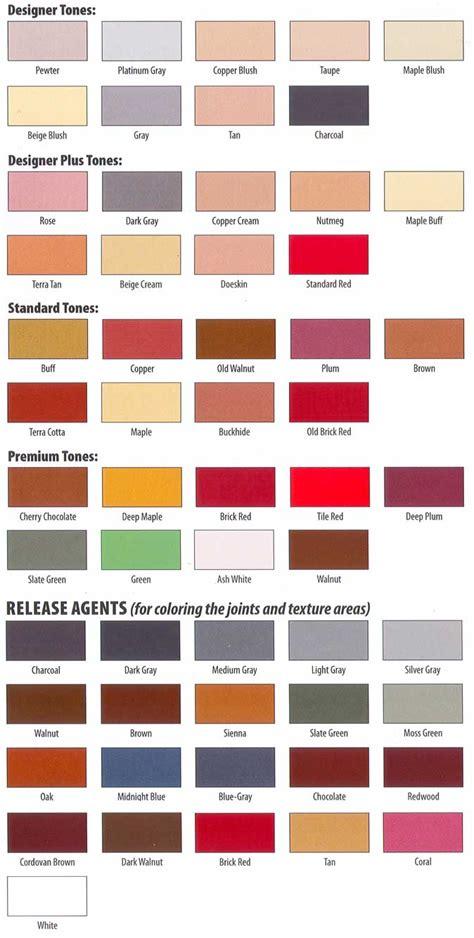 paint colors for concrete impressive concrete colors 2 sted concrete paint