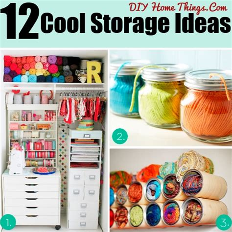 d i y projects craft ideas 12 cool ideas for storage and organization in your craft