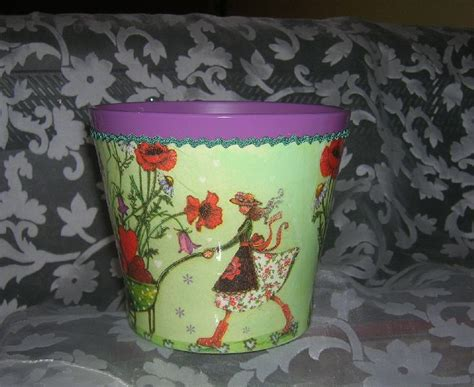 decoupage clay pots ideas pin by jola bessie on decoupage flower pots planters