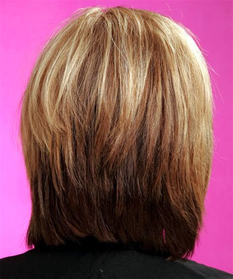 views of back of medium hairstyles medium layered bob back view hair styles short hairstyle