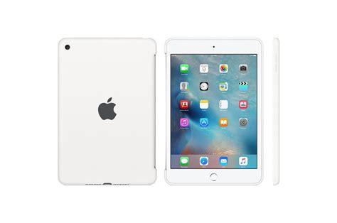 housse et 233 tui pour tablette apple coque en silicone blanche pour mini 4 4167139 darty