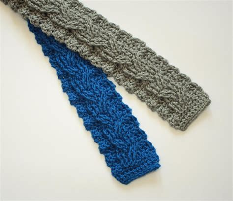 knit necktie cables aren t just for knitters crochet a cable pattern