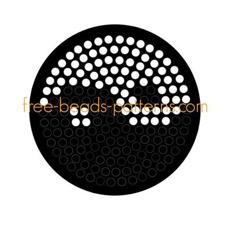 yin yang perler yin yang free hama pyssla fuse design pattern
