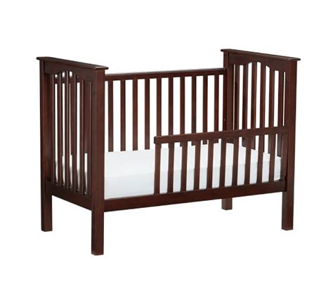 toddler crib to bed kendall toddler bed conversion kit pottery barn