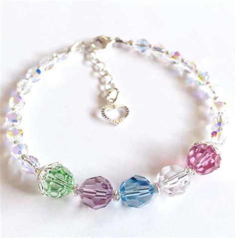 swarovski jewelry kits swarovski birthstone bracelet kit
