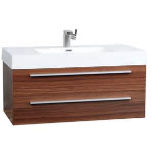 bathroom vanities tn wall mount contemporary bathroom vanity teak tn t1000 tk