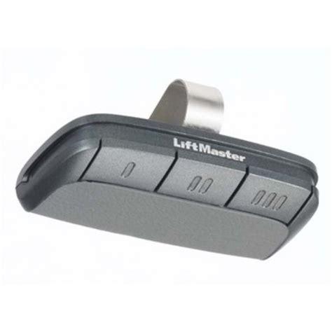 garage door remote liftmaster remote garage opener 895max