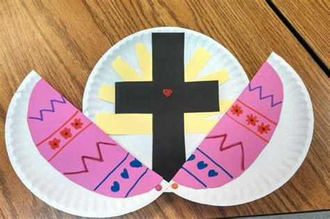 christian easter crafts for pinspired by amysfreeideas religious easter craft for