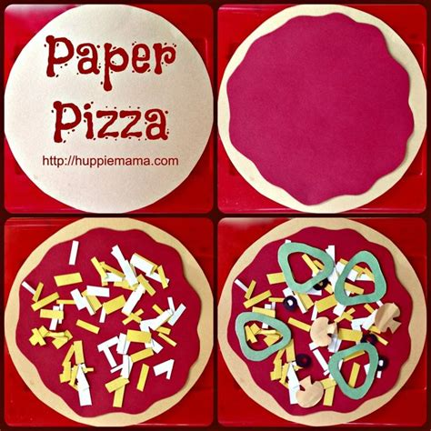 pizza crafts for 25 best ideas about pizza craft on paper