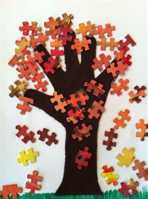 fall arts and crafts for play eat grow play fall tree craft
