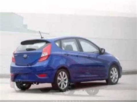 2012 Hyundai Accent Mpg by 2012 Hyundai Accent Gs 4 Door Hatchback New 6 Speed