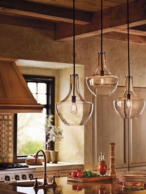 lights pendants kitchen kichler lighting 42046oz everly olde bronze pendant