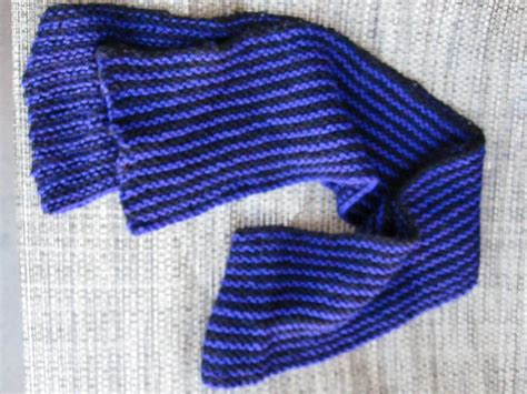 striped knitting pattern vertical striped knit scarf with blue sky alpacas sport