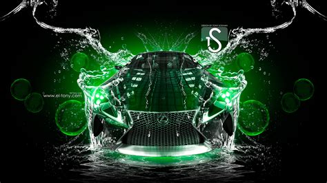 3d Hd Car Wallpapers 1080p 1920x1080 Water Wallpaper by Neon Car Wallpaper Wallpapersafari