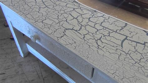 spray paint cracking crackle finish the magic of paint