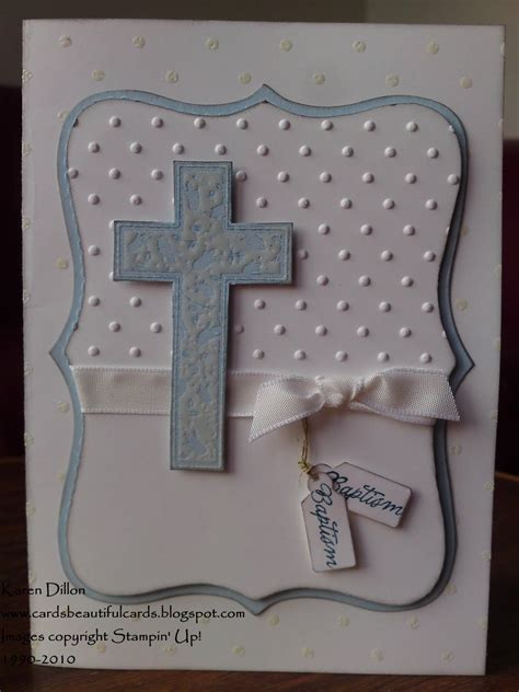 how to make a baptism card cards beautiful cards a baptism card for a boy