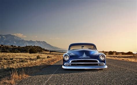 Wallpaper Car Chevrolet by Car Blue Cars Rod Chevy Chevrolet Desert