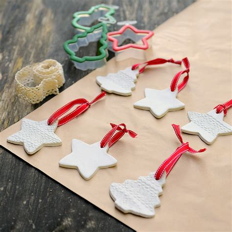 tree decorations to make how to make clay tree decorations hobbycraft