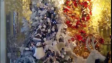 tienda de arboles de navidad arbol de navidad blanco decorado decoracion navide 241 a 2017