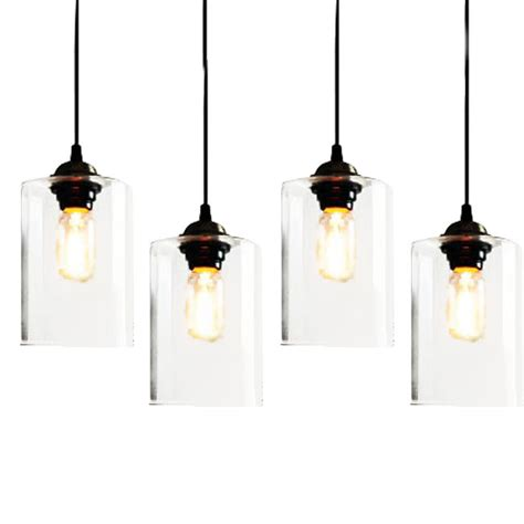 glass pendant light fixtures clear glass jar pendant lighting 7395 free ship browse