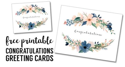 how to make a congratulations card congratulations card printable free printable greeting