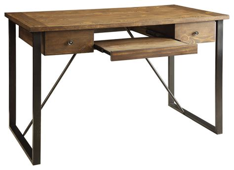 industrial computer desk industrial computer desk rustic desks and hutches by