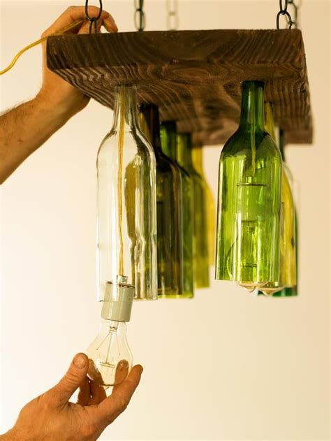 wine bottles chandelier 44 diy wine bottles crafts and ideas on how to cut glass
