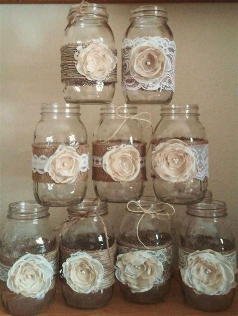 decorate jars for best 20 rustic jars ideas on jar