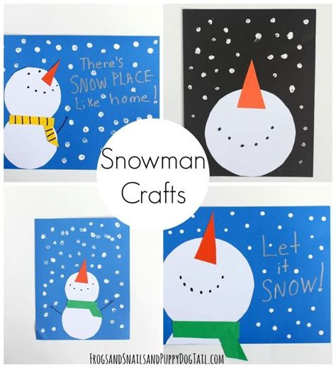 snowman crafts for 25 best ideas about snowman crafts on