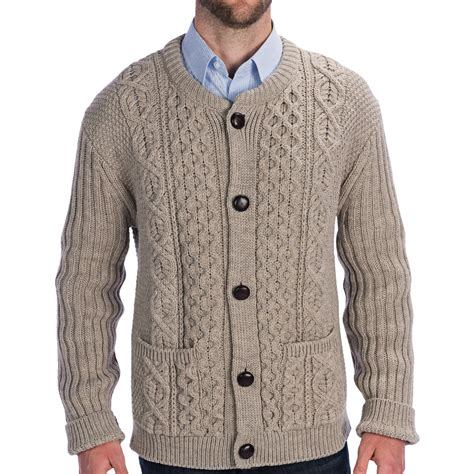 cable knit sweater mens mens wool cardigan sweater sweater jacket
