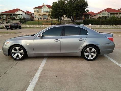 2007 Bmw 525i by Find Used 2007 Bmw 525i Sedan Premium Package W Custom