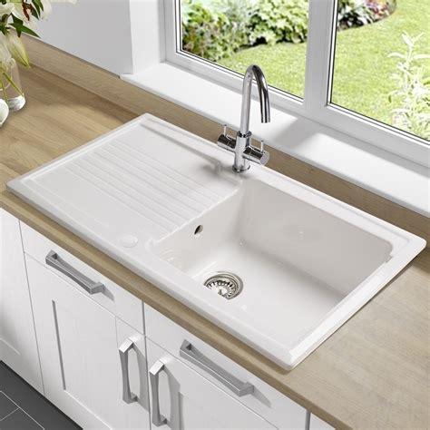 porcelain sinks for kitchen best kitchen sinks with drainboard modern kitchen 2017