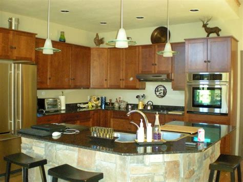 kitchen designs with islands for small kitchens small kitchen island with sink and seating idea for small