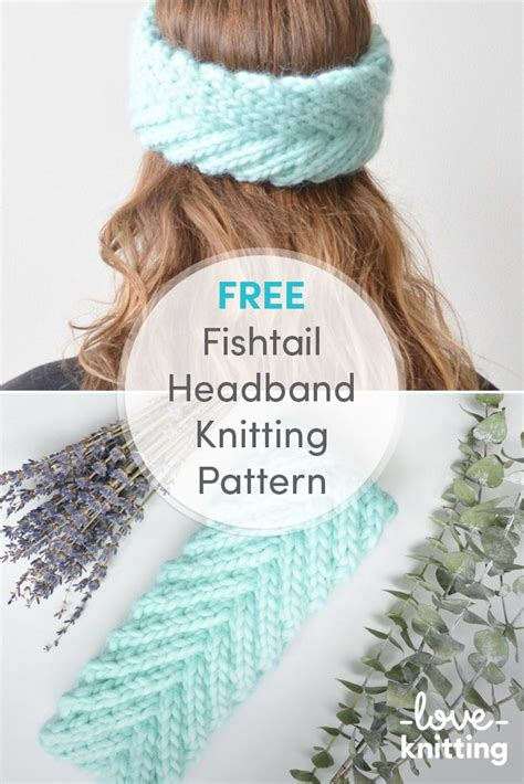 fishtail knitting pattern best 25 knit headband pattern ideas on
