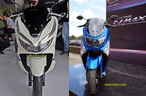 Pcx 2018 Vs Nmax 155 by Duel Yamaha Nmax 155 Vs Honda New Pcx 150 Lokal Di Tahun
