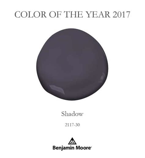 paint colors for 2017 benjamin benjamin shadow color of the year 2017 setting