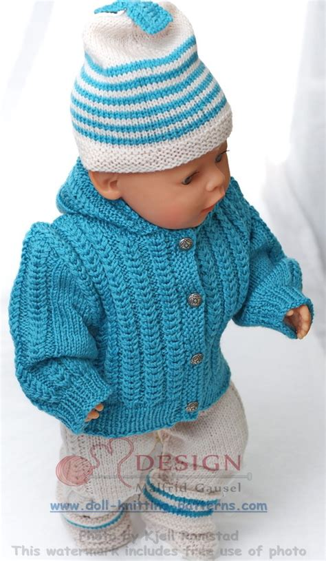 doll cardigan knitting pattern knitting pattern for american doll sweater