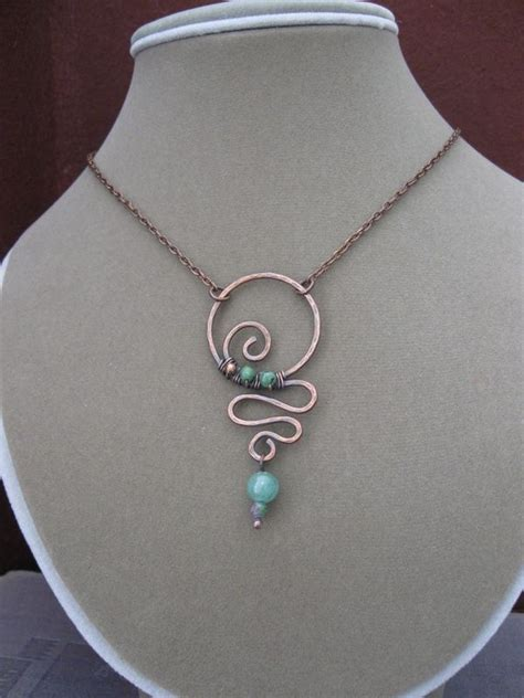 how to make a wire necklace with pin by suzy mcinroy on jewelry